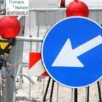 Via Giunti, restringimento di carreggiata per consentire l'asfaltatura