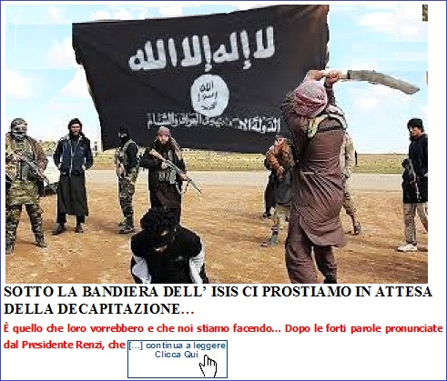 Immagine SOTTO ISIS