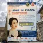 """""""LIONS IN PIAZZA"""" NEL DUOMO DI PISTOIA. GIORNATA ALLA VOLTA DELLA SALUTE."""