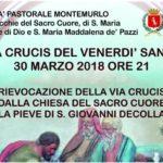 LA VIA CRUCIS DEL VENERDÌ SANTO VEDRÀ  PROTAGONISTE 14 ANTICHE FORMELLE RESTAURATE E LE ASSOCIAZIONI DEL TERRITORIO