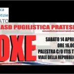 APPUNTAMENTO CON LA BOXE PER SABATO 14 APRILE