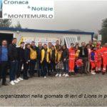 """""""LIONS IN PIAZZA"""", 1308 VISITE IN UN SOLO GIORNO NONOSTANTE PIOGGIA E VENTO"""