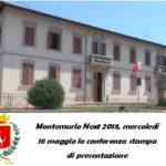 MONTEMURLO NEXT 2018, MERCOLEDÌ 16 MAGGIO LA CONFERENZA STAMPA DI PRESENTAZIONE