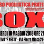 """LA BOXE CI ATTENDE AL CENTRO SPORTIVO """"P. NESTI"""" A MONTEMURLO"""