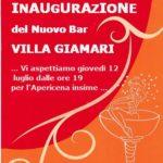 Villa Giamari, giovedì l'inaugurazione del nuovo bar