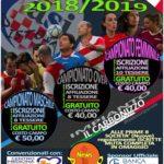 """Iscrizione Campionato """"ASI"""" Calcio a 5 Stagione 2018/2019"""
