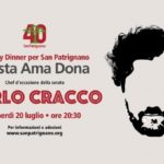 Cena chef Carlo Cracco Gusta ama dona a San Patrignano