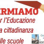 Educazione alla cittadinanza,per far passare la proposta di leggesi raccolgono le firmeanchea Montemurlo