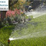 Montemurlo è sempre più verde. Nuovi impianti di irrigazione per mantenere l'erba dei principali spazi pubblici sempre fresca, anche in estate
