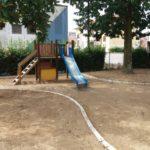 È partito il restyling del giardino della scuola dell'infanzia di Fornacelle