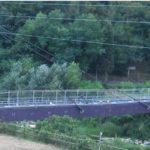 Ordine di chiusura del ponte pedonale de La Tignamica a Vaiano