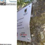 Danneggiata la targa in ricordo del Nebbia, affissa solo quindici giorni fa in occasione della Festa della Liberazione di Montemurlo