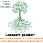 """""""Crescere genitori"""",a Montemurlo laboratori sulla salute, le emozioni e …l'educazione all'aria aperta"""