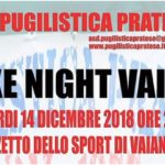 "Pugilistica Pratese: ""Box Night Vaiano"""