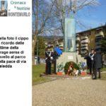 Montemurlo ricorda la strage aerea di Javello con una cerimonia al parco della Pace