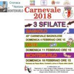 Carnevale 2019, domenica 25 febbraio la seconda sfilata è per le vie di Oste