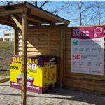 Inaugurata la nuova isola ecologica al supermercato Coop di via Livorno
