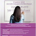 Un lavoro per il futuro, la giornata della donna a Montemurlo si celebra attraverso una riflessione sul valore del lavoro al femminile
