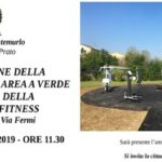 Inaugurazione della nuova area fitness di via Fermi