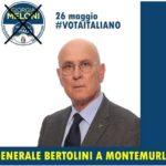A cena con il Generale Bertolini, candidato alle Europee (Fratelli d'Italia)