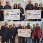 Il Comitato Montemurlo Solidale ha consegnato un assegno da 2500 euro al centro antiviolenza La Nara