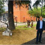 """Il candidato a sindaco del centrosinistra Simone Calamai: """"Restituiamo questo luogo alla comunità per dare libero sfogo alla creatività dei montemurlesi"""""""