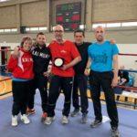 """""""Mega Punch heroes 7"""", la campionessa montemurlese Emily Wahby, organizzatrice dell'evento regionale per i giovani kickboxer"""