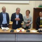 Il saluto del sindaco Lorenzini ai dipendenti e il ringraziamento ai cittadini per questi dieci anni