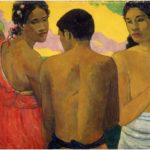 Tre Tahitiani 1899 Paul Gauguin The National Gallery of Scotland, Edimburgo