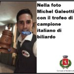 Michel Galeotti vince il campionato italiano di biliardo