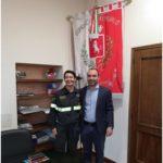 Il sindaco Calamai ha incontrato la nuova comandate dei Vigili del Fuoco di Prato