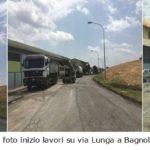 Èpartita oggi l'asfaltatura completa di via Lunga a Bagnolo
