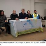 Le congratulazioni del sindaco a Mattia Gavagni per la presa di servizio al pronto soccorso