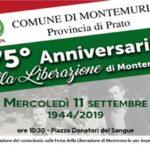 Montemurlo festeggia il 75esimo anniversario della Liberazione