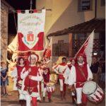 La storica bandiera del Comitato Provincia anche quest'anno al Corteggio con il Gruppo Storico di Montemurlo