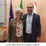 Alina Giusti delle politiche sociali va in pensione