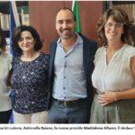 """Il sindacoCalamai ha incontrato la nuova dirigente del comprensivo """"Margherita Hack"""""""