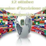 Prorogata al 12 ottobre l'iscrizione aicorsi di lingue straniere