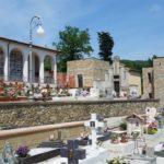 Cimitero di Rocca in ordine per la festa di Ognissanti
