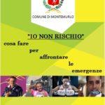 """Marco Innocenti, Christian Giagnoni, Emily Whaby e Michel Galeotti testimonial di """"Io non rischio"""" a Montemurlo"""