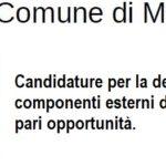 Commissione pari opportunità, pubblicato l'avviso per presentare le candidature
