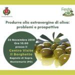 Al Borghetto un convegno sull'olivicoltura tra problemi e prospettive