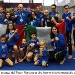 Il team Martorana fa incetta di medaglie alla quinta edizione del World Traditional Kung Fu Championship