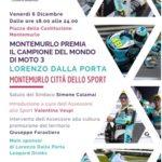 Montemurlo premia il suo campione, Lorenzo Dalla Porta, con un evento pubblico