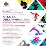 Montemurlo città dello sport, domenica ritorna il gran galà dell'Atleta dell'anno 2019