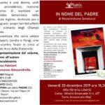 """""""In nome del Padre"""" di Massimiliano Amatucci, sarà presentato alla libreria Libertà di Torre Annunziata"""