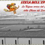 A Montemurlo la Befana arriva dal campanile della chiesa del Sacro Cuore