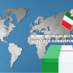 Referendum confermativo, voto per corrispondenza per i montemurlesi all'estero