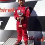 Manuel Morello, il campioncino di kart correrà il campionato regionale di karting cat. 60 mini