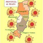 Salgono ancora i casi di Coronavirus a Prato